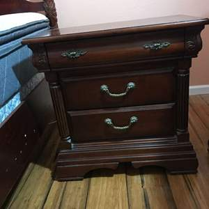 Lot # 123 - Another Cherrywood Night Stand Same as Lot 119