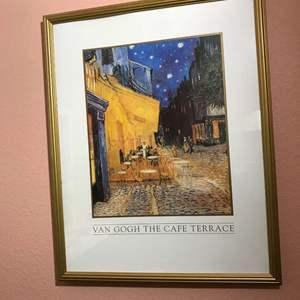 Lot # 131 - Nicely Framed Van Gogh the Cafe Terrace Print