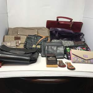 Lot # 149 - Collection of Purses & Wallets - (See Pictures for Brands)