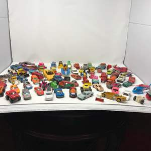 Lot # 159 - Collection of Vintage Metal Toy Trucks, Hot Wheels, Match Box & More