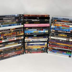 Lot # 206 - Collection of DVD's - (See Pictures for Titles)