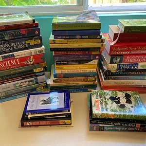 Lot # 208 - College Textbooks & Educational Books
