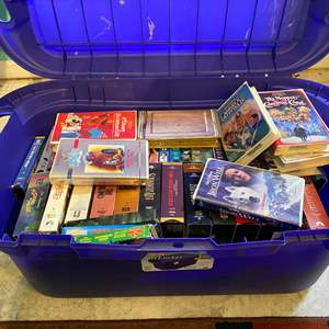 Lot # 344 - Another Bin Full of VHS Classic Movies