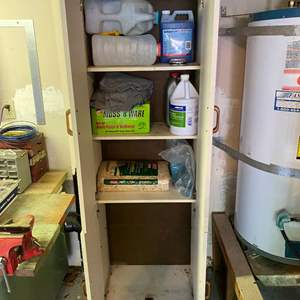 Lot # 404 - Cabinet w/ Contents