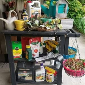 Lot # 91 Garden Shed Cart