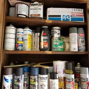 Lot # 103 Spray Paint & More