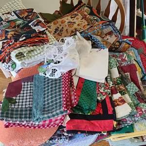 Lot # 21 Table Cloths & Placemats