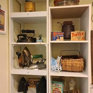 Lot # 25 Shelves & Decor