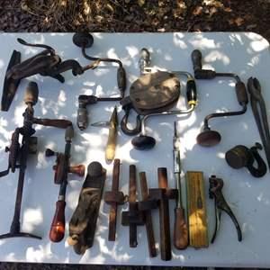 Lot # 66 Vintage Hand Tools