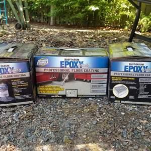 Lot # 73 Rust Oleum Epoxy Shield Floor Coating