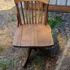 Lot # 51 Antique Crocker Chair Co. Chair