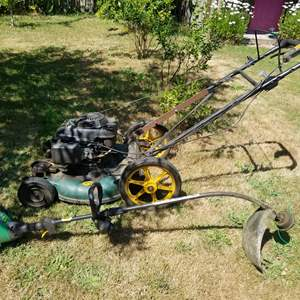 Lot # 75 Lawn Mower & Weed Eater