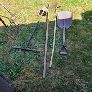 Lot # 56 Vintage Yard Tools