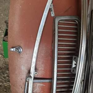 Lot # 58 MGB Car Parts