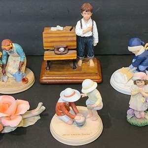 Lot # 123 Jessie Wilcox Smith Figurines & Timeless Treasures
