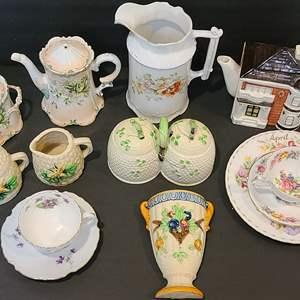Lot # 124 Assorted Ceramics & China