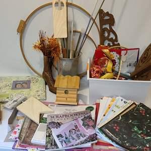 Lot # 128 Scrapbooking & Craft Supplies