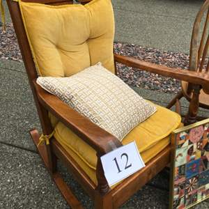 Lot # 12 - Mid Century Rocking Chair and More