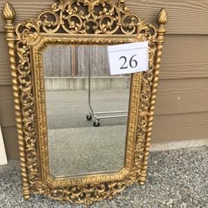 Lot # 26 - Resin Mirror