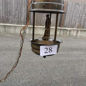 Lot # 28 - Vintage (Rare) Oil Rain Lamp