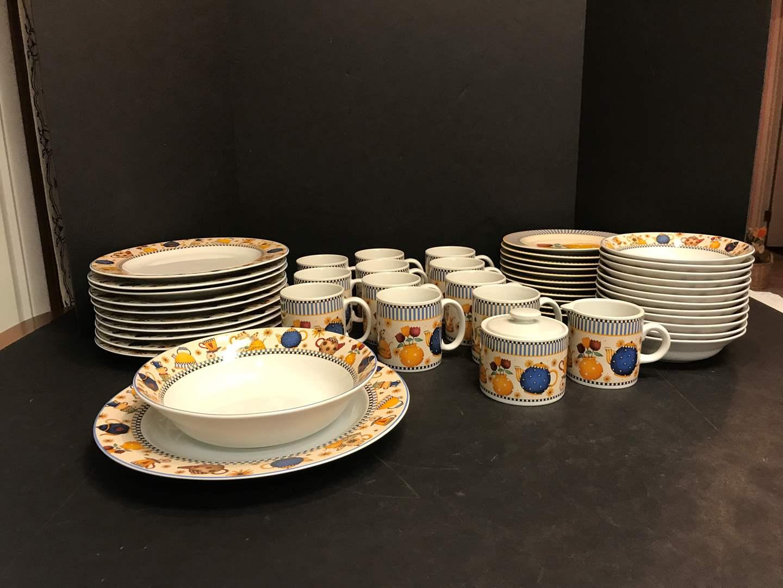 "Lot # 50 - 49 Piece Set of Sakura ""Teapots"" Dinnerware (main image)"