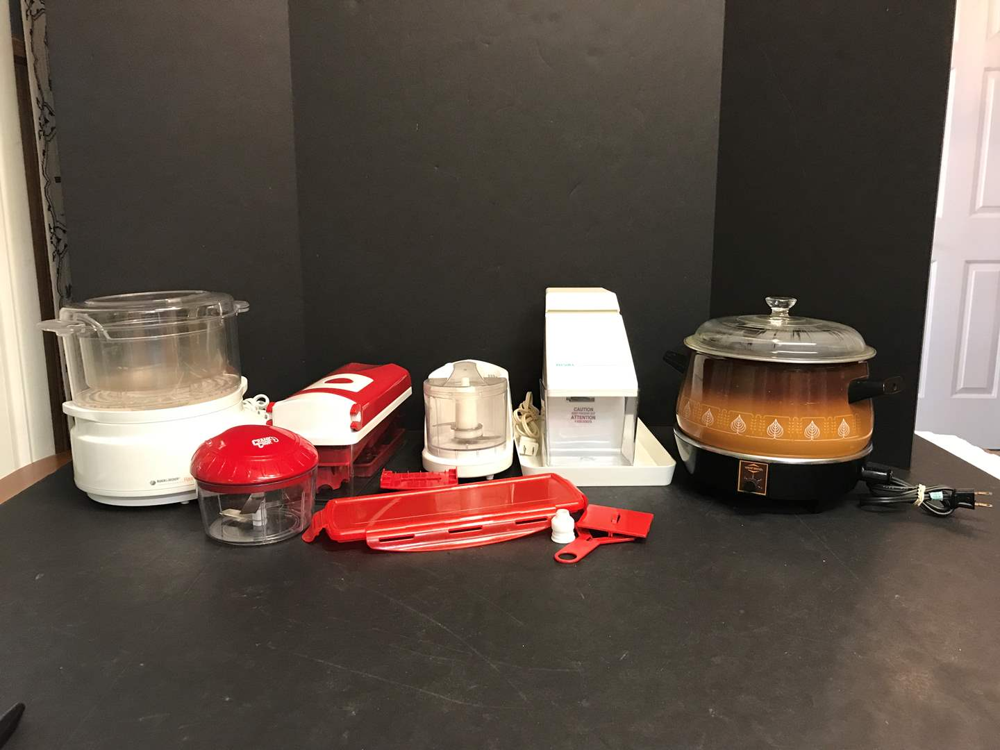 Lot # 58 - Black & Decker Handy Steamer, Rival Ice Crusher, Vegetable Choppers & More (main image)