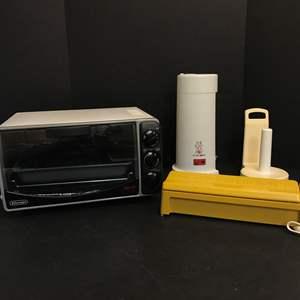 Lot # 73 - De Longhi Alfredo Elite Toaster Oven, Meals In Minuets & More