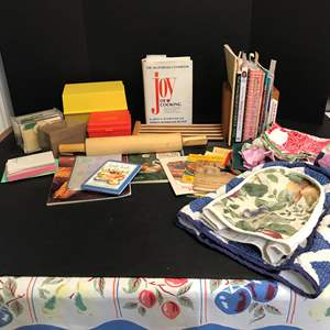 Lot # 74 - Small Collection Of Cook Books & More