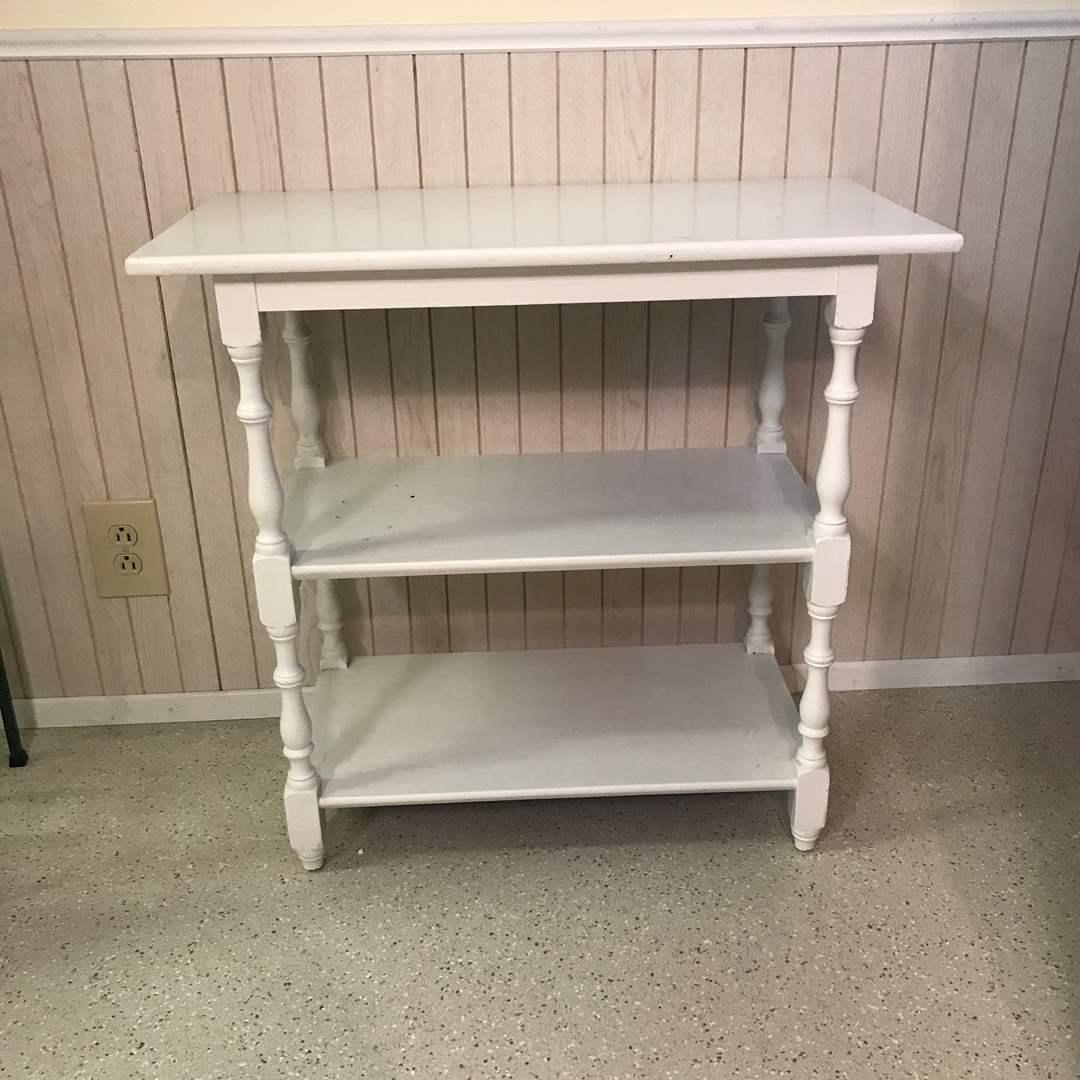 Lot # 89 - 3 Shelf Side Table (main image)