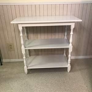 Lot # 89 - 3 Shelf Side Table