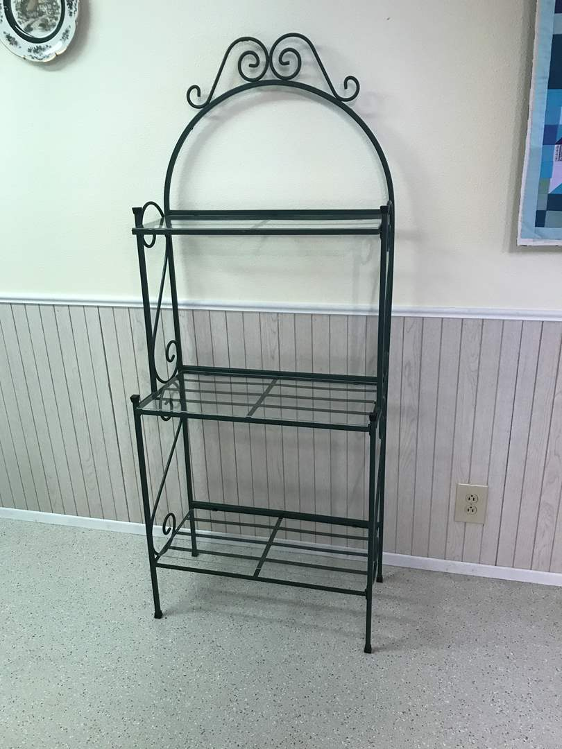 Lot # 90 - 3 Tier Plant Stand  (main image)