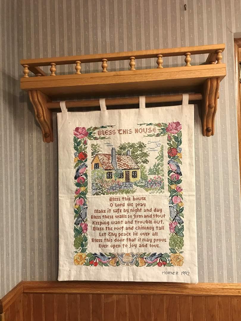 Lot # 92 - Wall Tapestry  (main image)