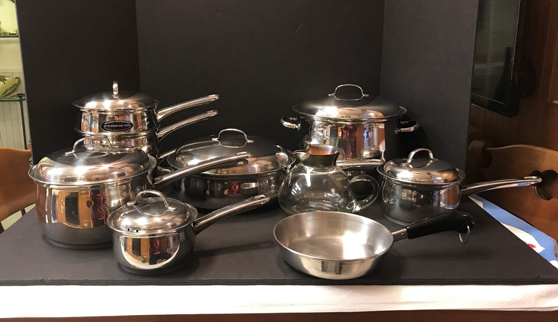 Lot # 138 - Belgique Pots & Pans (main image)