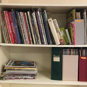 Lot # 157 - Lot of Sewing Magazines & Books