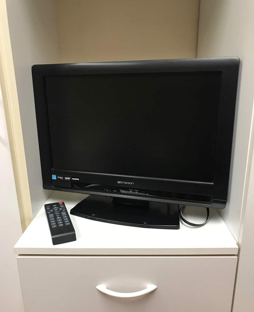 """Lot # 205 - 18"""" Emerson TV w/Remote (main image)"""
