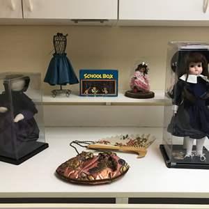 Lot # 207 - Dolls In Cases, Cool Handbag & More