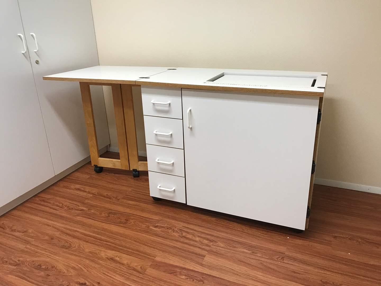 Lot # 212 - Nice Sewing Machine Table  (main image)