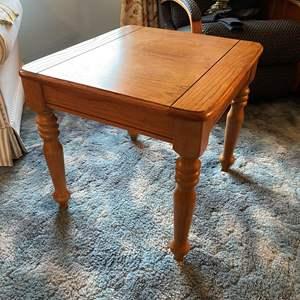 Lot # 11 - Wood Side Table