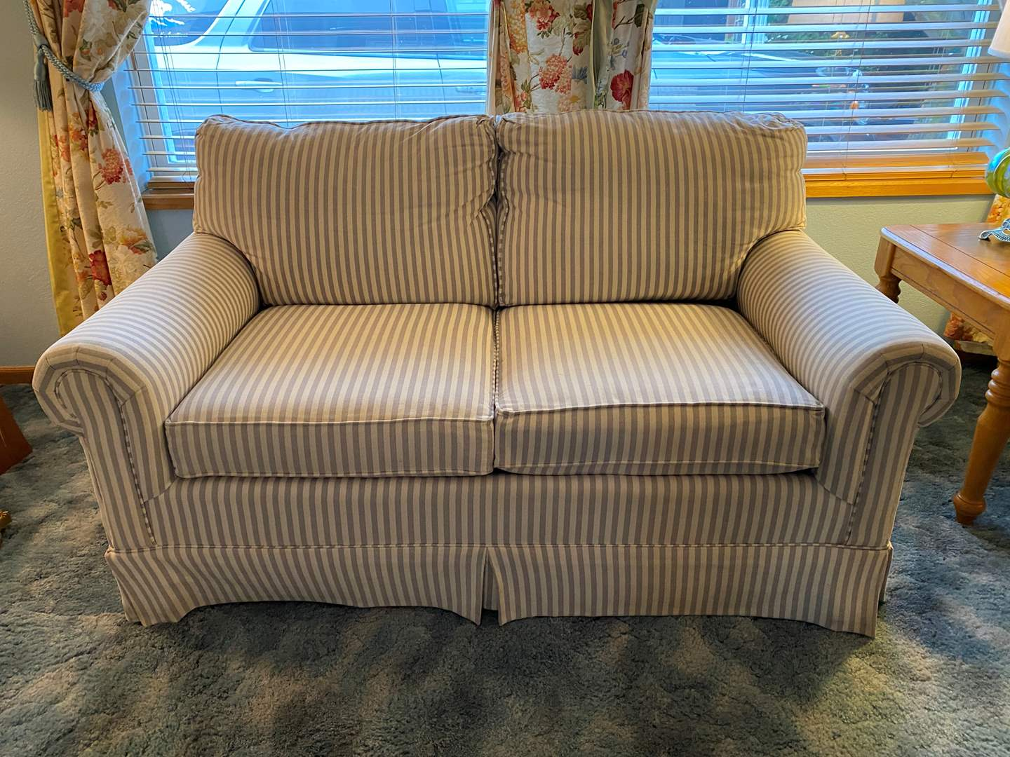 Lot # 12 - Nice Loveseat Sofa From the Bon Marche (main image)