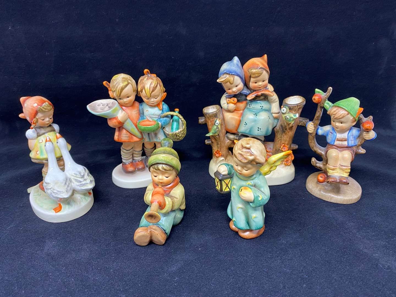Lot # 24 - Six Hummel Figurines - (See Description of Listings) (main image)