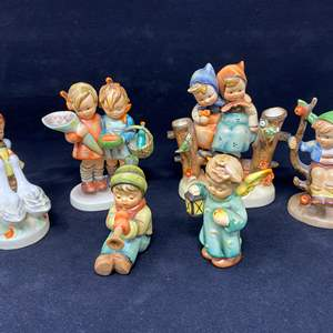 Auction Thumbnail for: Lot # 24 - Six Hummel Figurines - (See Description of Listings)