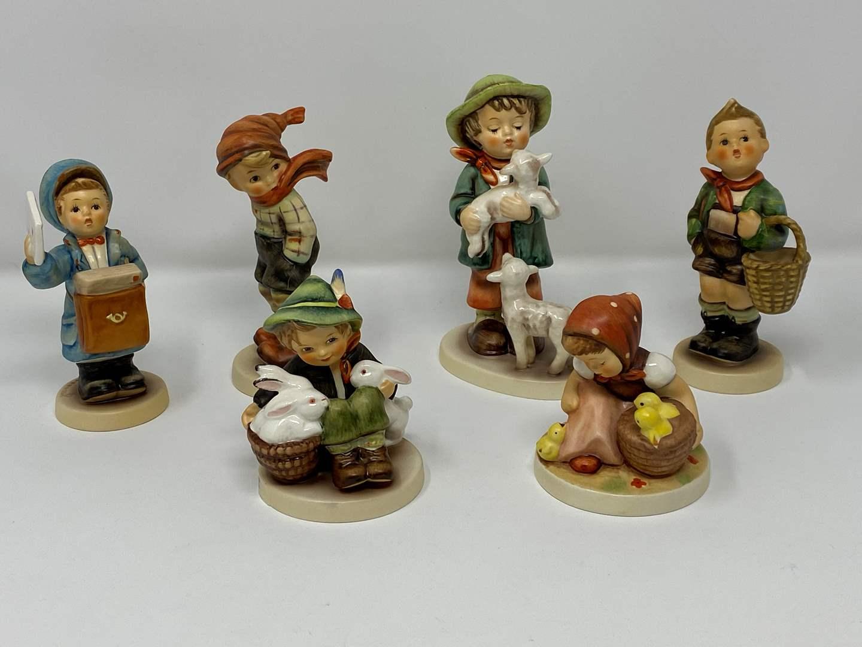 Lot # 25 - Six Hummel Figurines - (See Description for Listings) (main image)