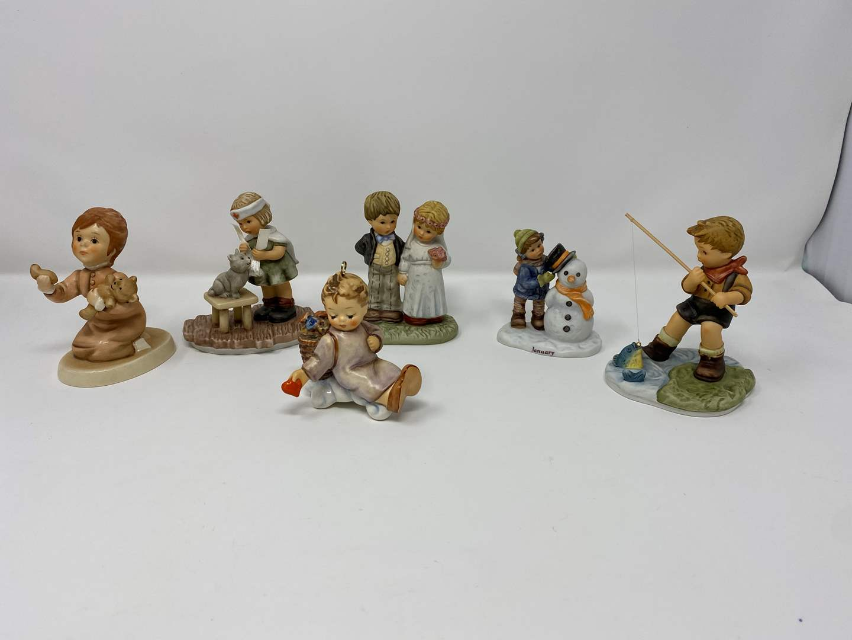 Lot # 26 - Six Hummel Figurines - (See Description for Listings) (main image)