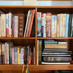 Lot # 32 - Selection of Books: Medical, Religious, Novels, & More