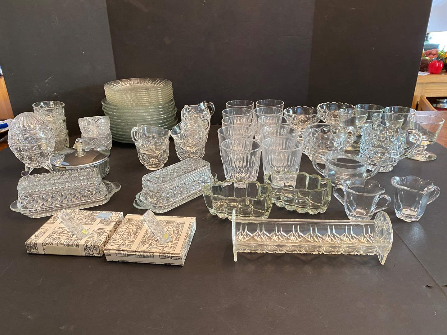 Lot # 49 - Selection of Crystal & Glass Dishes - (See Pictures) (main image)