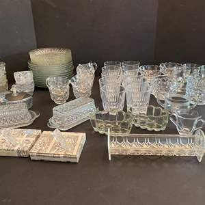 Lot # 49 - Selection of Crystal & Glass Dishes - (See Pictures)