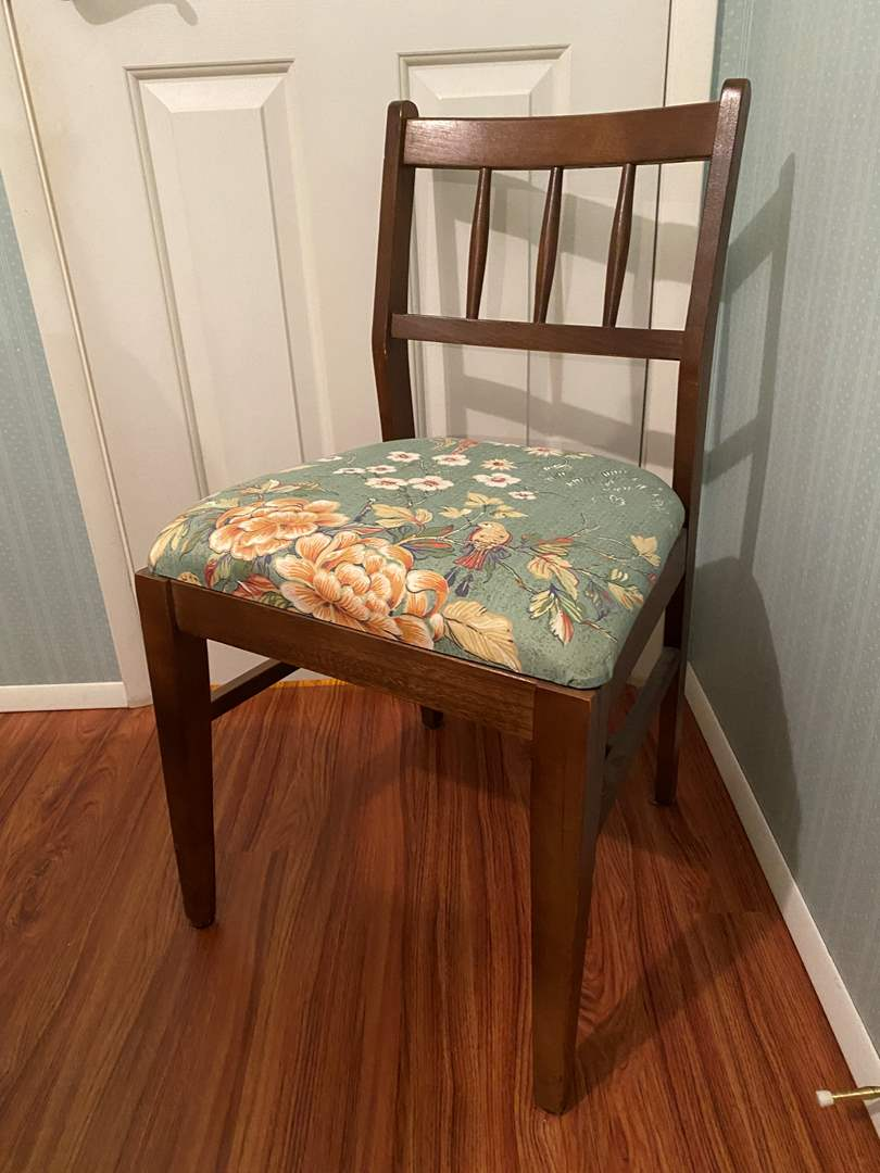 Lot # 110 - Well Built Vintage Chair (main image)