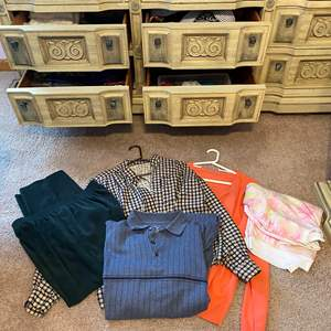 Lot # 168 - Woman's Scarves & Clothes - (See Photos)
