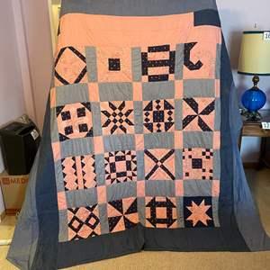 Lot # 181 - Nice Handmade Quilt
