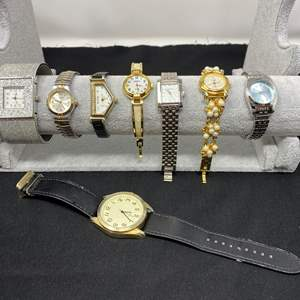 Lot # 196 - Eight Woman's Watches